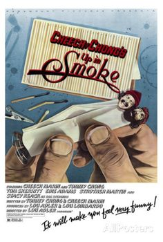 A great movie poster from Cheech and Chong's Up In Smoke! Check out the rest of our dank selection of Cheech and Chong posters! Need Poster Mounts. Classic Comedies, Classic Movies, Classic Tv, Top Gun, Original Movie Posters, Film Posters, Strother Martin, Stacy Keach, Movies