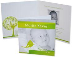 Babykarten – Kleines Vögelchen Beautiful, Design, Little Birds, My Son, Invitations