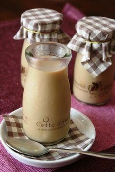 「コーヒー牛乳プリン。」子供の頃は、よく飲んでいた、甘いコーヒー牛乳。懐かしい味です。コーヒーは濃いめに入れます。【楽天レシピ】