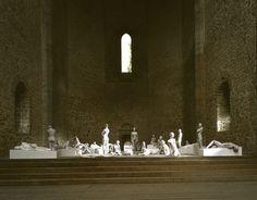 Vanessa Beecroft VB62.018.nt, Chiesa dello Spasimo, Palermo, 2008, digital C print, 226 x 178 cm, ed 6