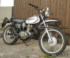 Image result for honda xl 250 Honda Motorcycles, Dirt Bikes, Bobbers, Choppers, Motocross, Yamaha, Old School, Exotic, Purpose
