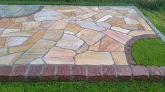 polygonalplatten porphyr rot braun pathway pinterest pflaster gartenweg und garten pflaster. Black Bedroom Furniture Sets. Home Design Ideas