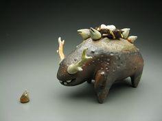 Ceramic artworks by Eva Funderburgh