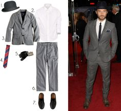 Dress your little guy just like a mini Jude Law with this outfit…