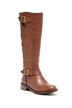 Beatty Double Buckle Boot