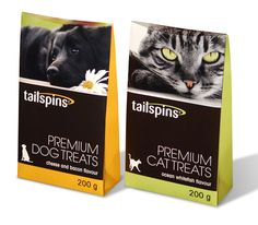 Tailspins Dog Treats Packaging  Packaging