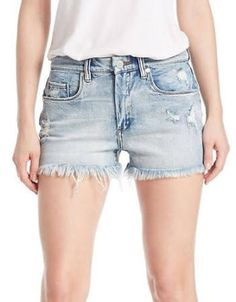 Blank Nyc Distressed Cutoff Denim Shorts - Tinder Trophy Women's Tinder Trophy 27W - Brought to you by Avarsha.com