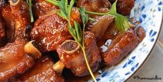 Slow Cooker Spareribs with Preserved Plum