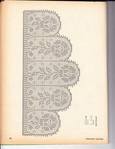 Filethäkeln Gardine , Filet crochet curtain
