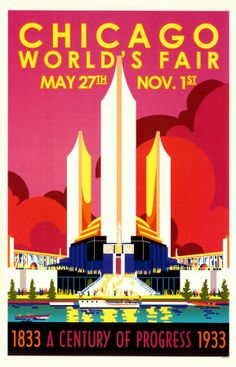 Vintage Chicago Posters, Chicago Vintage Posters and Prints