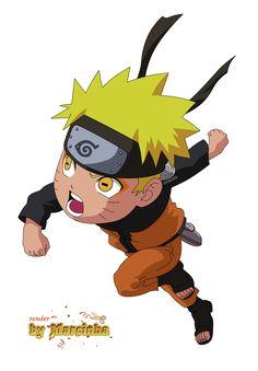 PNG Chibi Naruto Uzumaki Sennin by Marcinha20.deviantart.com on @DeviantArt