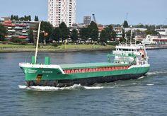 26 augustus 2016 uitgaand in de Rijnmond naar zee  BANIER   http://koopvaardij.blogspot.nl/2016/08/bestemming-parnu.html