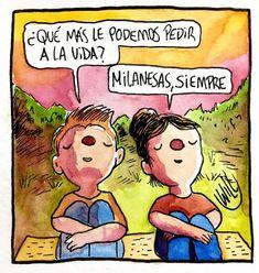 Milanesas siempre   o no? . . . . . #milanesa #comer #willlabeta #historieta #argentina #vida #color #acuarela #arte #dibujo #love #amor