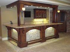 Love this home bar!