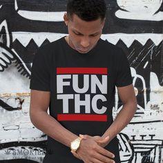 marijuana t-shirt,UNISEX,stoner shirt,marijuana shirt,hip hop shirt, Run Dmc,stoner gift,marijuana t-shirt,weed shirt,tshirt weed FUN THC