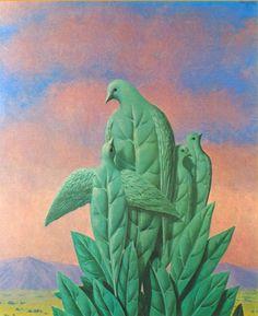Художник - Рене Магритт, картина «Природные грации»: Сюрреализм, Аллегорическая сцена