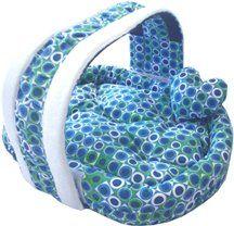 Pampered Pet Dog Cat Bed W/ Pillow – Basket Polka Dot Bed « dogsiteworld.com