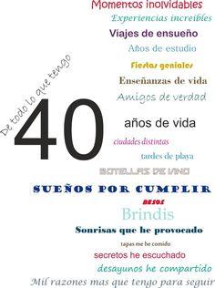 Las 40 Mejores Imágenes De Los 40 Cumpleaños 40 Fiestas