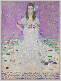 Gustav Klimt (1862–1918), Mäda Primavesi - 1912