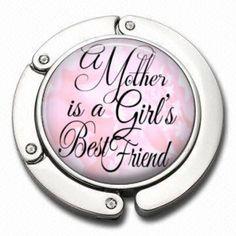 Purse Hanger   A Mother is a girls best friend   by AGiftToLove