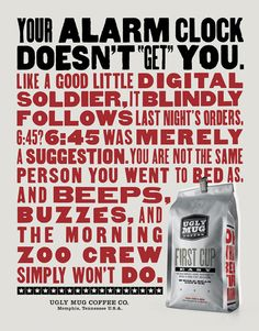 Work - Young & Laramore Advertising Ugly Mug Coffee