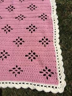 This is one of the first baby blankets that I designed. It continues to be one of my favorites. It reminds me of delicate lace. I thi...