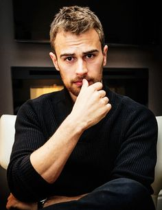I can't believe he has a British accent! <3 Divergent – Insurgent – Allegiant – Theo James – Tobias Eaton - Four