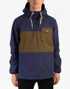 Element Wolfeboro Collection Creston Windbreaker Jacket - Indigo - RouteOne.co.uk