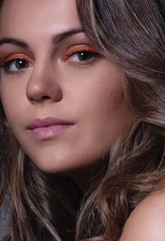 orange liner natural beauty #barbaramordinimakeupartist