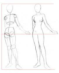 como dibujar a una mujer paso a paso - Buscar con Google