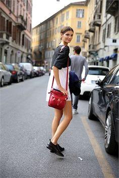 Milan Fashion Week - Street Style - September 2012
