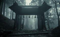 Temple entrance, Kyoto