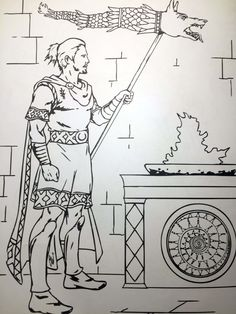 Romania for Kids - Coloring pages - The Adventures of Kiara Yew Flag Coloring Pages, Coloring Pages For Kids, Kids Coloring, Flag Drawing, Transylvania Romania, Warrior Tattoos, Autumn Trees, Elementary Schools, Kindergarten