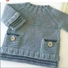 Baby Knitting Patterns Funny … v … Baby Boy Knitting Patterns, Crochet Baby Dress Pattern, Baby Dress Patterns, Knitting For Kids, Free Knitting, Knit Crochet, Crochet Patterns, Knitted Baby Cardigan, Knit Baby Sweaters