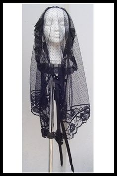 Victorian Mourning Veil