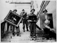 "Nazi-looted art is still being sought and recovered more than 70 years after the real men and women of the Army's Monuments, Fine Arts, and Archives program, known as the ""Monuments Men,"" set out to protect European art from Nazi plundering in World War II. National World War II Museum in New Orleans is developed a special gallery to honor the Monuments Men."