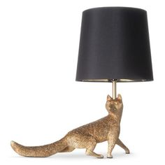 Fox Figural Table Lamp