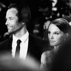Benjamin Millepied et Natalie Portman, montée des marches du 13 mai, Festival de Cannes 2015