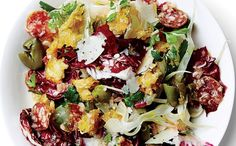 A week's worth of Italian inspired meals, but no pasta in sight. http://www.epicurious.com/recipes-menus/recipes-for-simple-easy-italian-main-course-dinners-article?utm_content=buffer87e3a&utm_medium=social&utm_source=pinterest.com&utm_campaign=buffer