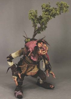 Fantasy | Whimsical | Strange | Mythical | Creative | Creatures | Dolls | Sculptures | The Traveller by Toby Froud
