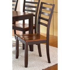 Acacia Solid Wood Dining Chair (Set of 2)  by Greyson Living