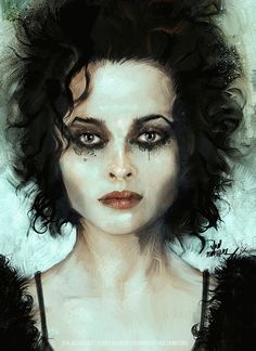 Tim Burton's Sweeney Todd. Helena Bonham Carter as Mrs.Lovett.