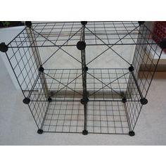 Wire Stacking Grid Storage Cubes Four Cubes Interlocked Toy Dorm Utility  Closet | Nimdeal Ebay Shop | Pinterest | Storage Cubes, Dorm And Cube