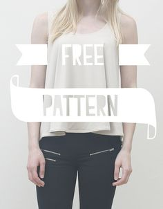 DIY Loose Top - FREE Sewing Pattern / Tutorial