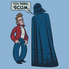 """Rebel Scum""  - Luke is having daddy issues"