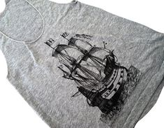 Hey, I found this really awesome Etsy listing at http://www.etsy.com/listing/127510484/pirate-ship-tank-top-nautical-boat