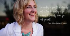 """""""The quality of your life is directly related to the quality of your stories. Especially those you tell yourself. You must craft them well."""" Pamela Slim - Learn about her course """"Escape from Cubicle Nation"""" - #entrepreneur #thecreativemind http://theinnerentrepreneur.com/83/pamela-slim-on-forging-your-path/"""