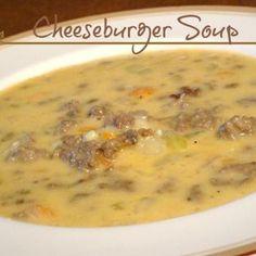 Cheeseburger Soup Recipe - Recipes, Food & Cooking & ZipList