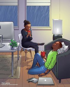 Sexy Black Art, Black Love Art, Black Girl Art, My Black Is Beautiful, Art Girl, Black Couple Art, Black Love Couples, Black Cartoon, Cartoon Art