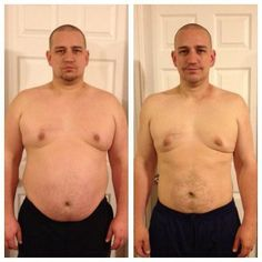 "58 lbs in 11 weeks.  My favorite part of his story is that we tried P90X 3 years ago and ""failed""  Now we have something that works for him :)"